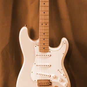 Foto einer E-Gitarre